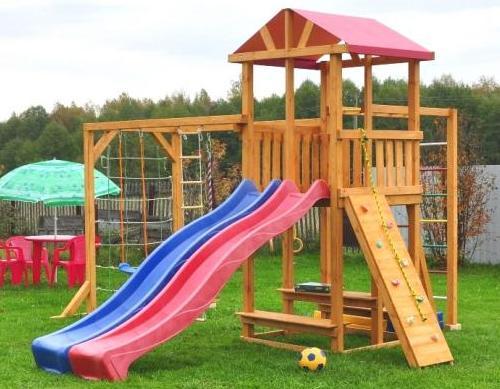 Детская площадка Мадрид в Рязани