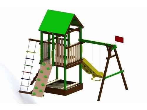 Детская площадка Леда в Рязани