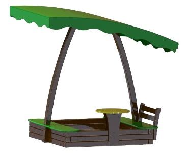 Песочница Леда со столиком в Рязани