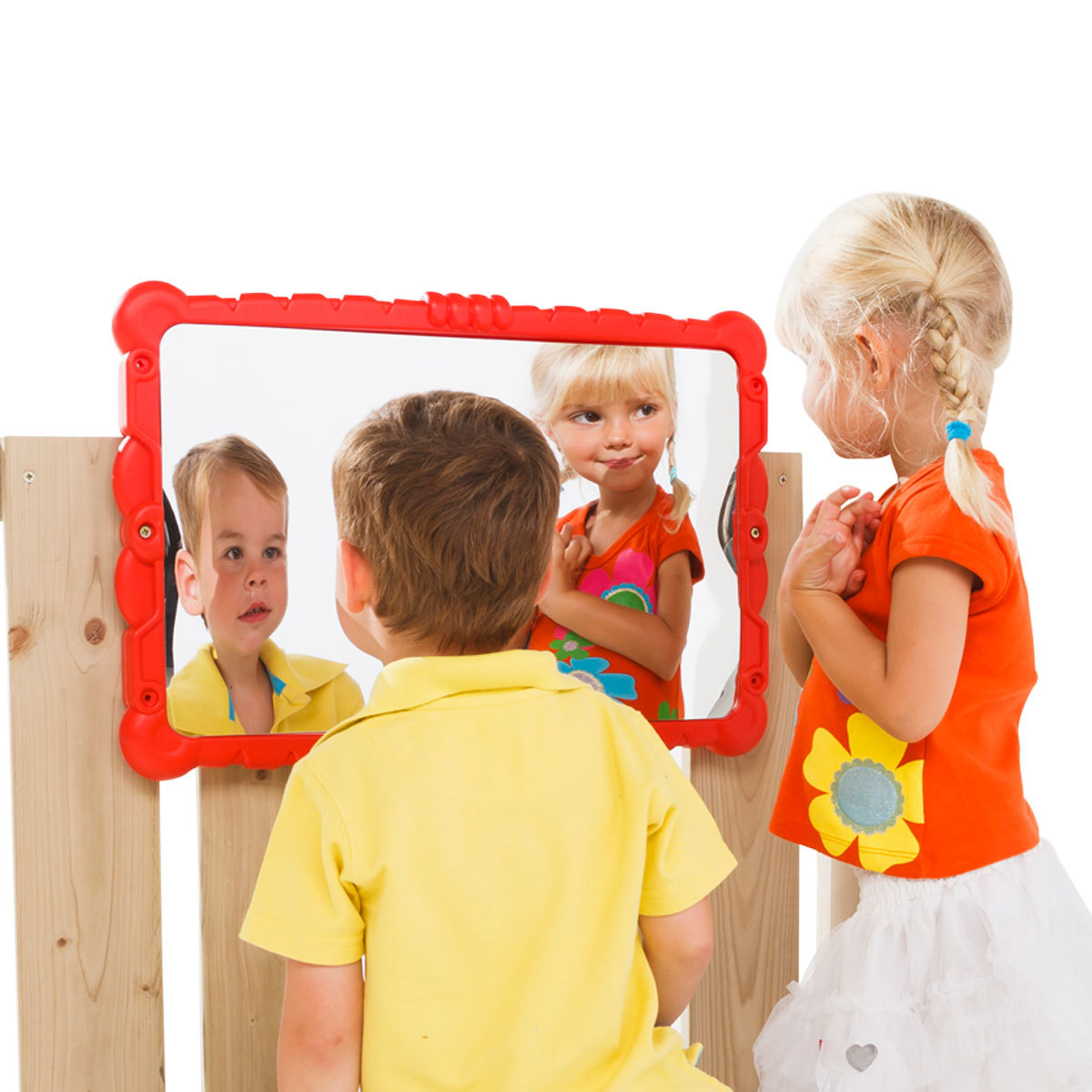 Кривое зеркало, зеркало смеха