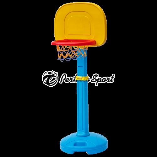 Стойка баскетбольная детская с щитом и баскетбольным кольцом