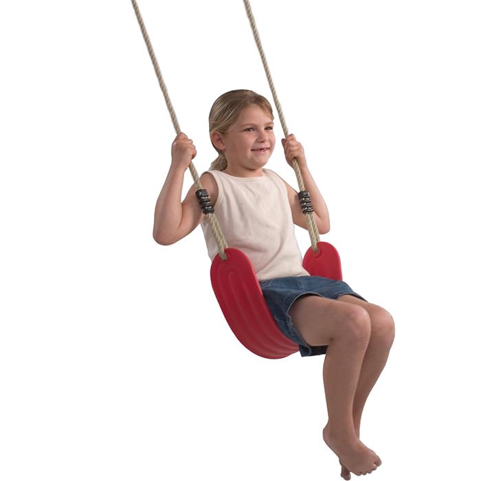 Детские качели гибкие на подвесе для дачи