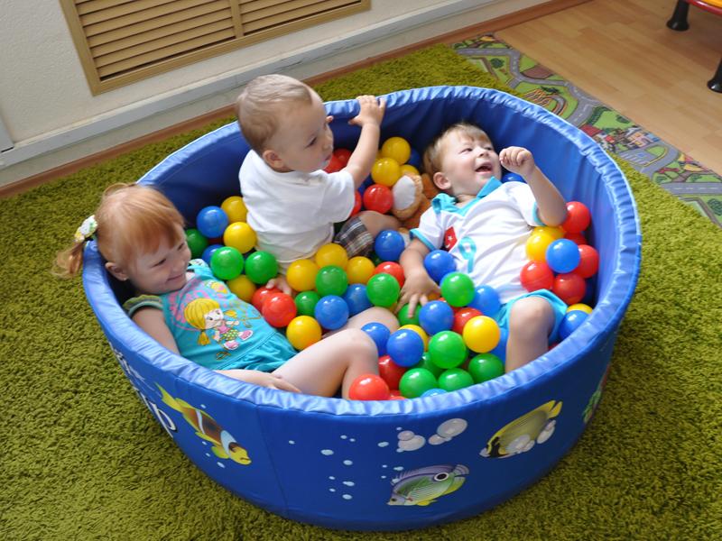 Сухой бассейн с шариками Romana купить в Рязани