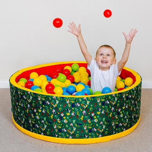 Сухой бассейн с шариками купить в Рязани