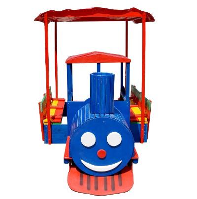 Купить песочницу gfпаровозик поезд в Рязани