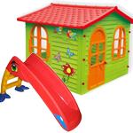 Купить горку в Рязани - пластиковые домики и горки