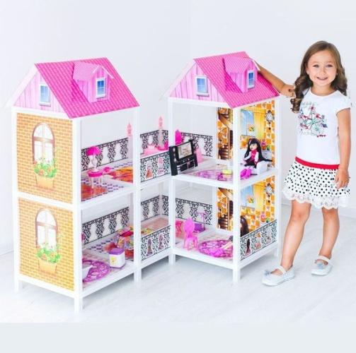Кукольный домик для барби - купить в Рязани