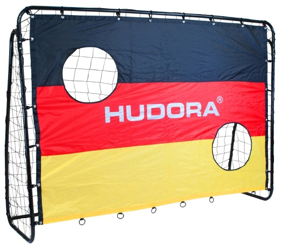 Ворота футбольные с тренировочной сеткой