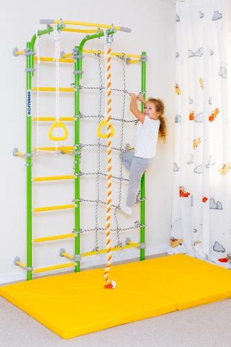 Шведская стенка с сеткой Карусель S3 - купить шведскую стенку в Рязани