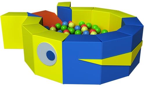 Сухой бассейн с шариками в Рязани