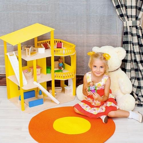 Деревянный кукольный домик - купить в Рязани