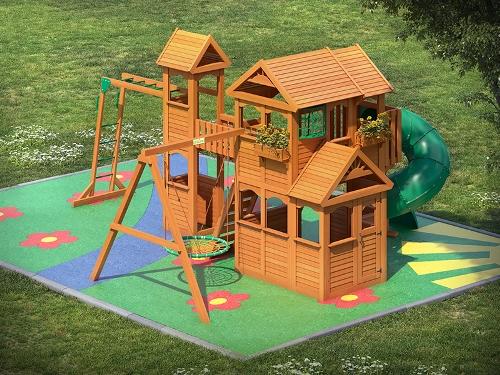 Игровая площадка для детей в Рязани