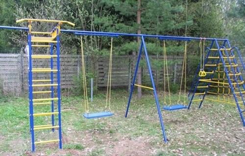 Детская площадка для дачи из металла