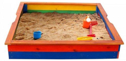 Песочница разноцветная в Рязани