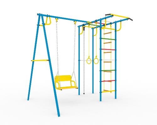 Детская площадка для дачи из металла в Рязани