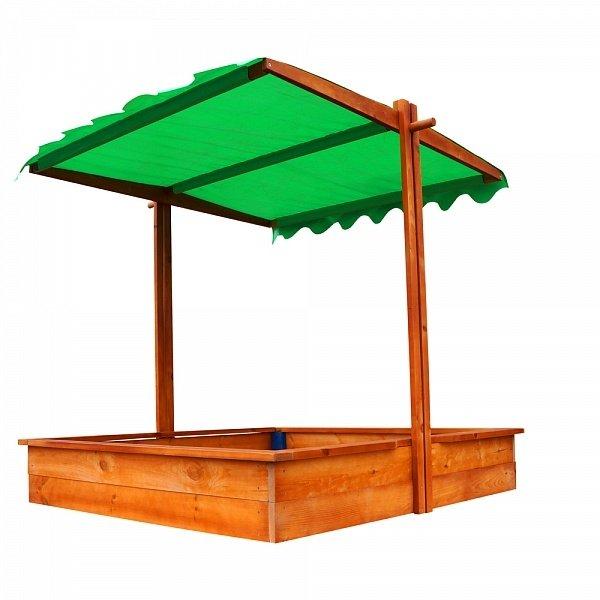 Песочница разноцветная с крышей в Рязани