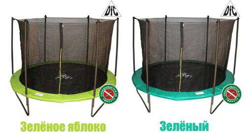 Купить батут DFC с сеткой в Рязани