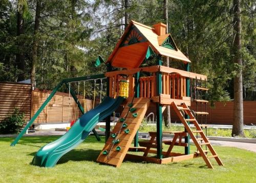 Элитная детская площадка Рассвет в Рязани