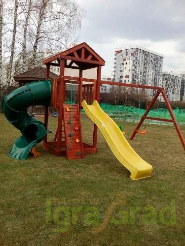 Купить детскую площадку для дачи дешево в Рязани