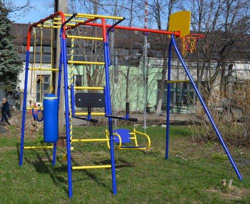 Детская площадка из металла Пионер Юла Макси (Россия)