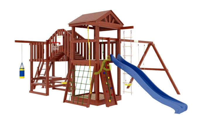 Купить детскую площадку с мостиком в Рязани