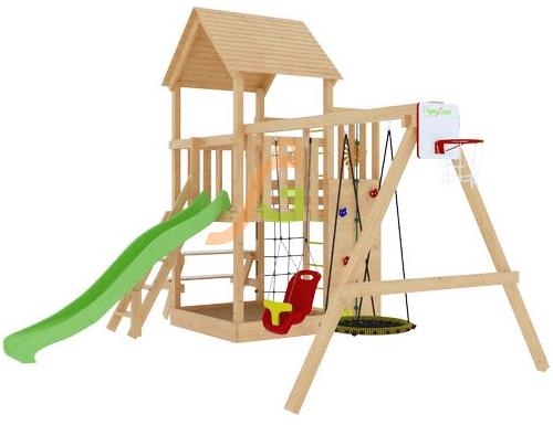 Купить детскую площадку с горкой недорого в Рязани